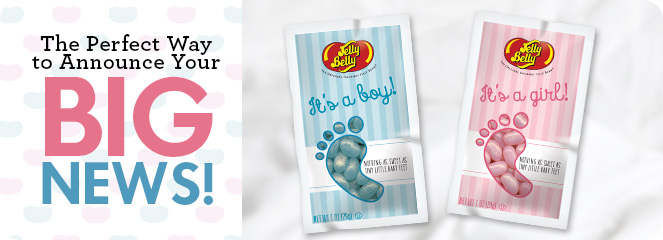 Its a Boy Its a Girl Baby Announcements – Baby Announcement Candy
