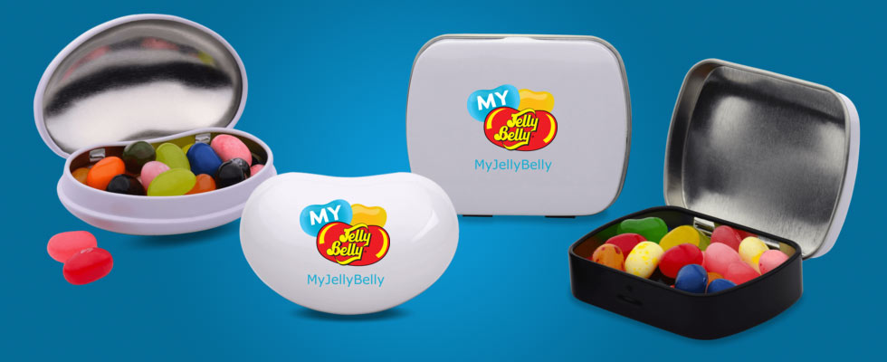 My Jelly Belly Tins