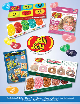 Jelly Belly Fundraising Brochure