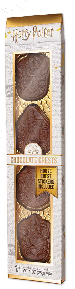 Harry Potter Chocolate Crests in box