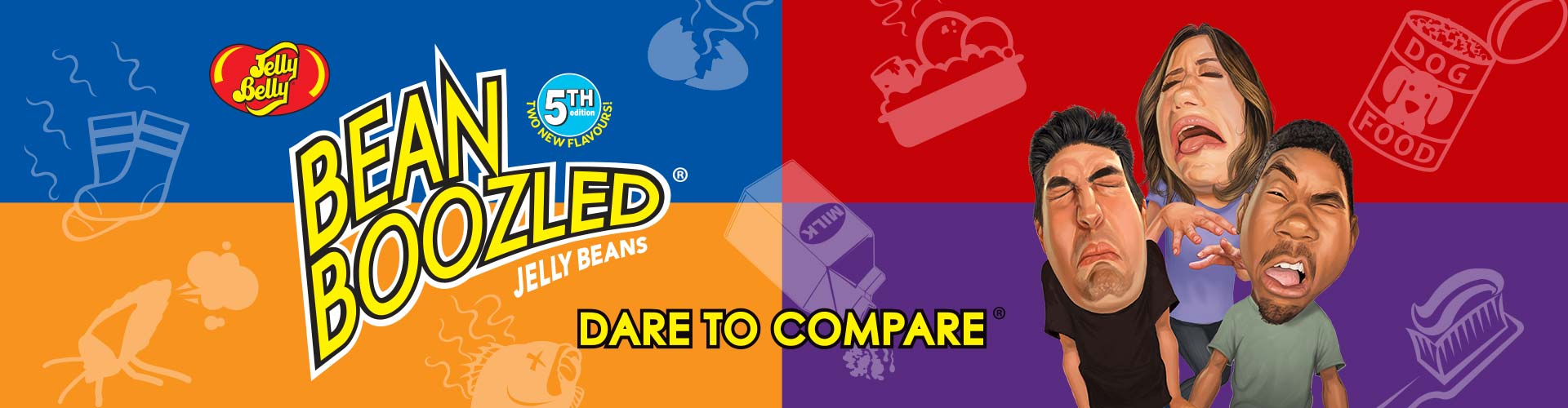 BeanBoozled Challenge Page Dare to Compare