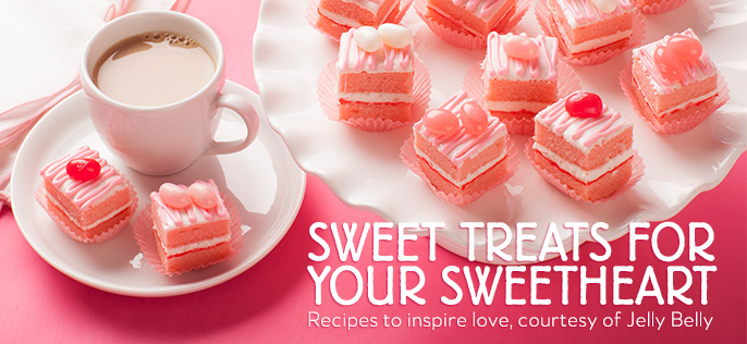 Sweet Treats for Your SweetHeart. Recipes to inspire love, courtesy of Jelly Belly
