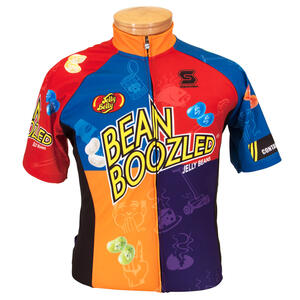 BeanBoozled Cycling Team Jersey - Adult Men - XS