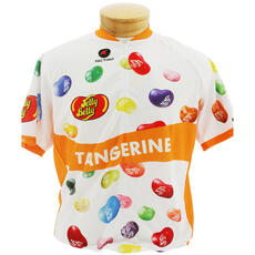 Jelly Belly Tangerine Cycling Jersey - Adult - Medium