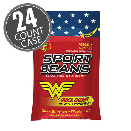 Jelly Belly Wonder Woman™ Sport Beans® Jelly Beans Assorted 24-Pack