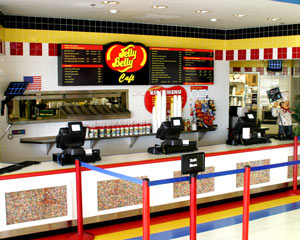 Jelly Belly cafe at Fairfield, California location
