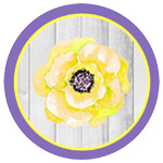Spring Garden Party Yellow and Purple Printables