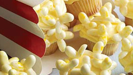 Movie Popcorn Cupcakes Birthday Recipe
