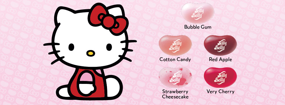 Flavors include: Bubble Gum, Cotton Candy, Red Apple, Strawberry Chessecake, and Very Cherry