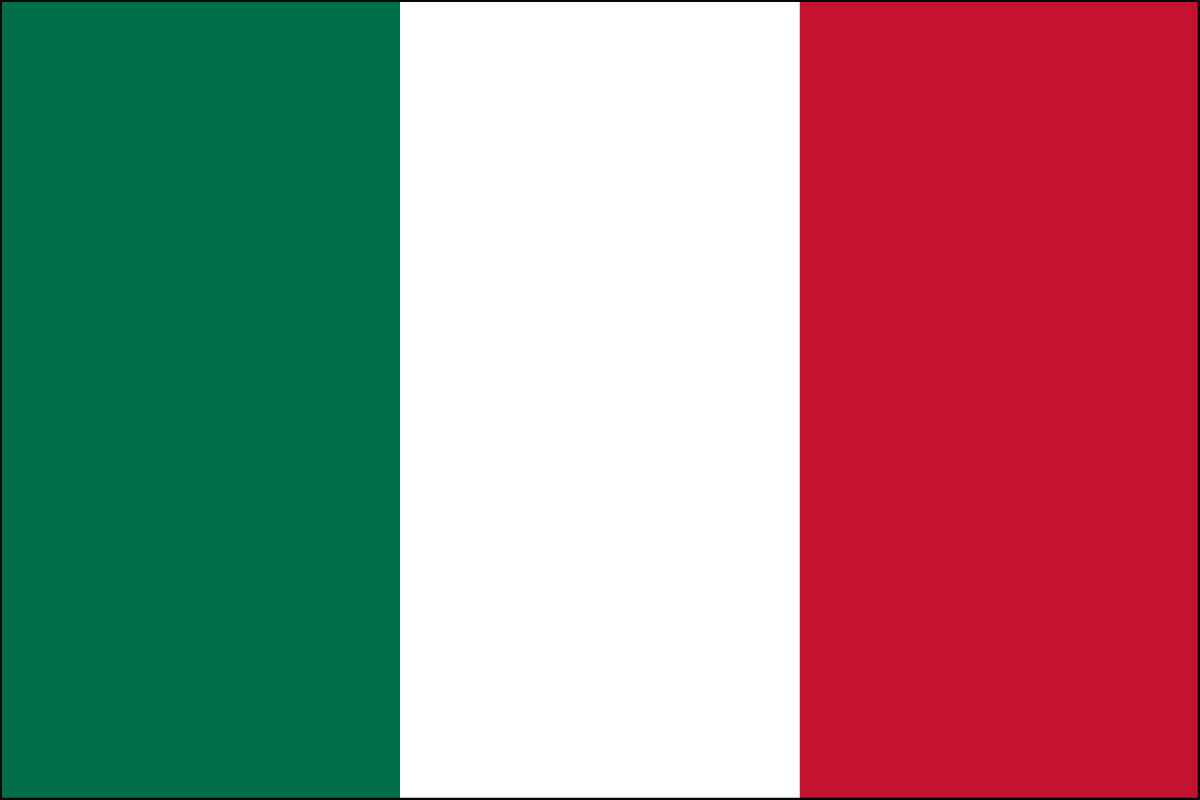 Italian Flag. Link Clicks to Italian Jelly Belly Site