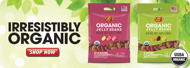 Jelly Belly Organic product listing page