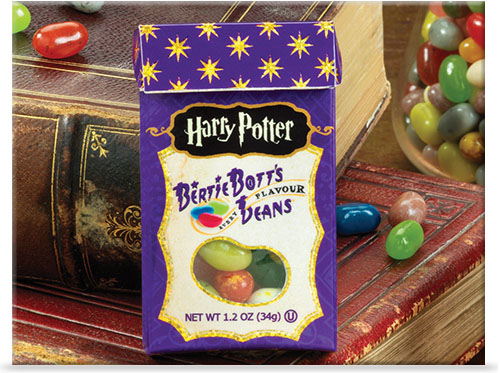 Package of Harry Potter Bertie Bott's Every Flavour Beans® Candy