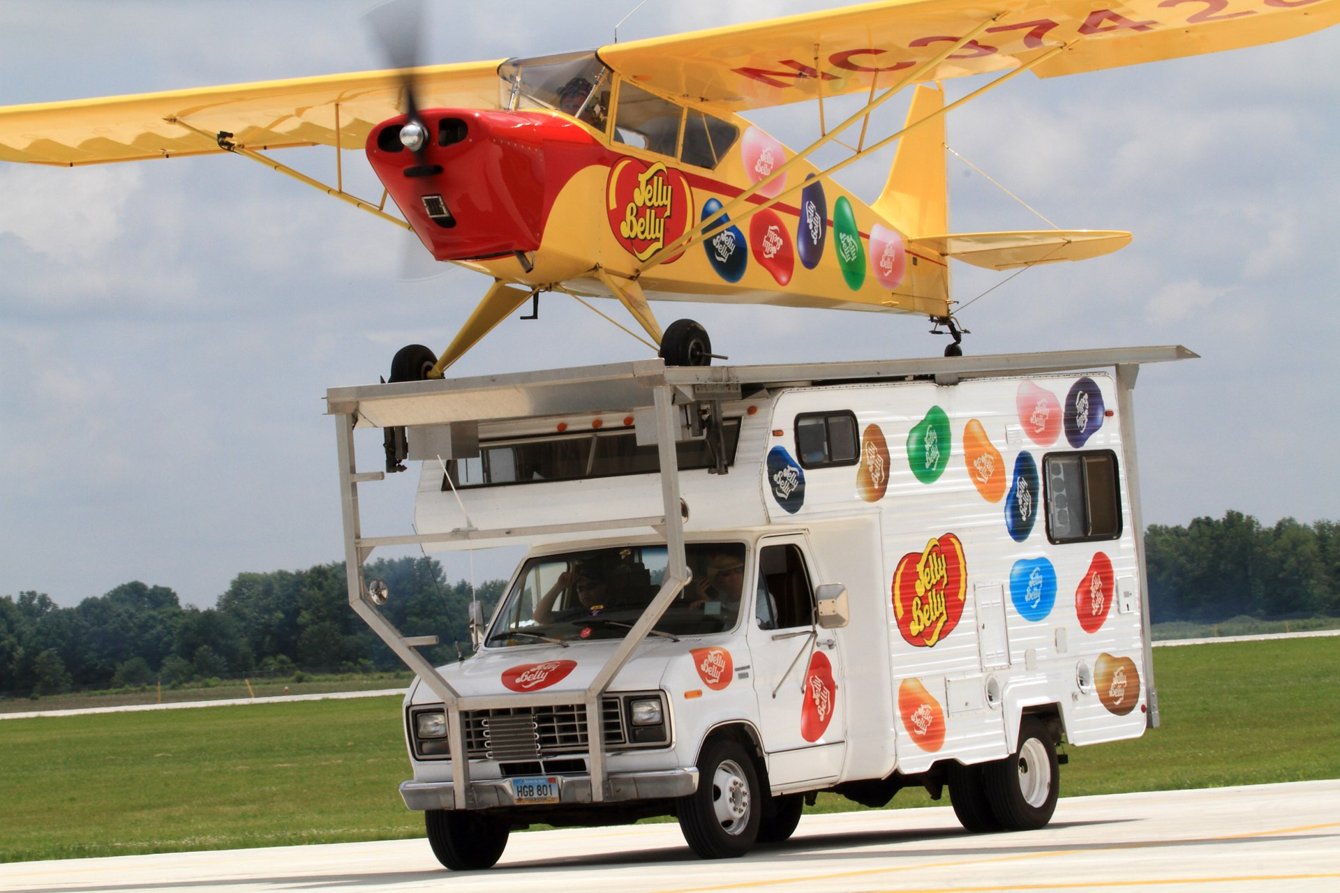 Jelly Belly RV and Airplane