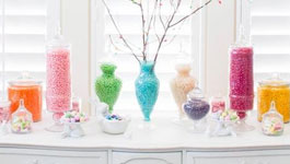 Spring Dessert Table Centerpiece