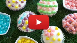 How to make Easter Egg Cupcakes video