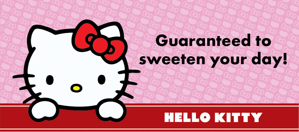 Guaranteed to sweeten your day! Hello Kitty