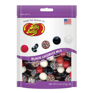 Black Licorice Mix - 6 ounce Pouch Bag