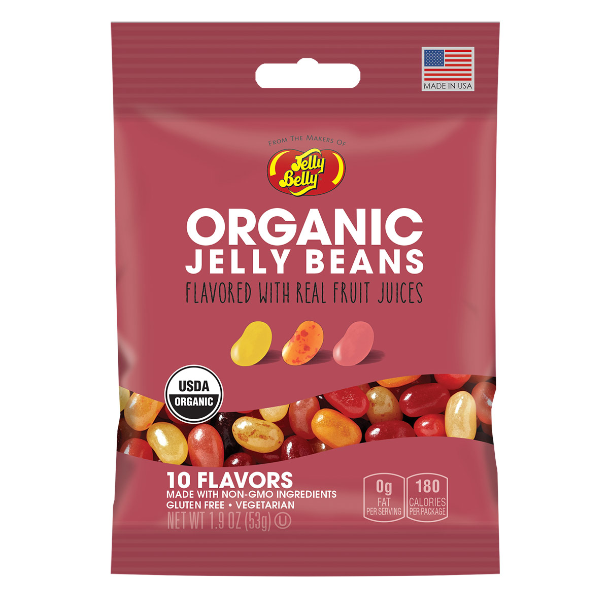 Organic Jelly Beans   Organic Candy   Jelly Belly Candy Company