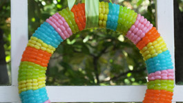 Jelly Belly Spring Wreath