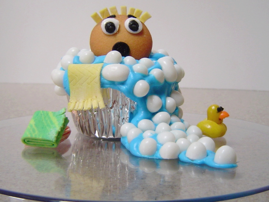 Bubble Trouble Cupcakes