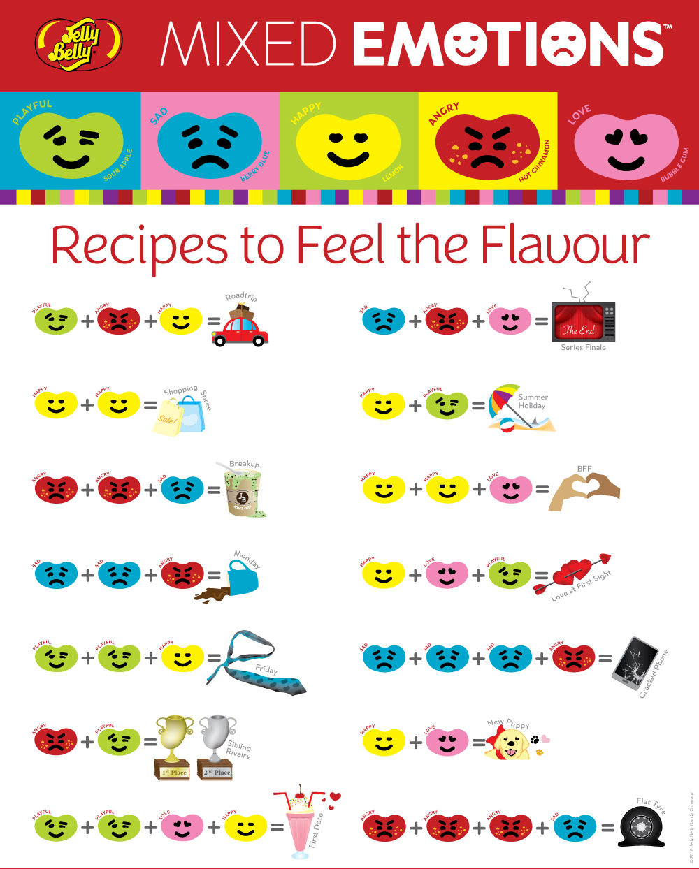 Mixed Emotions Recipes
