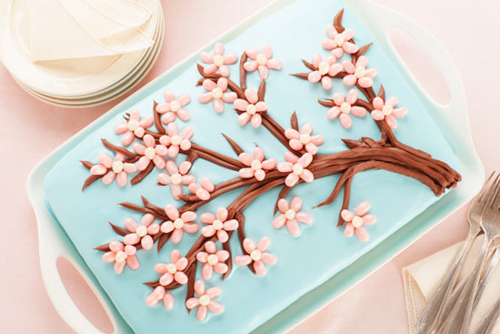Jelly Belly Cherry Blossom Cake