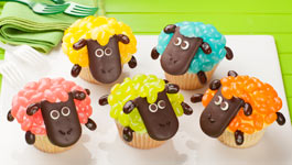 Jelly Belly Spring Mix Sheep cupcakes image
