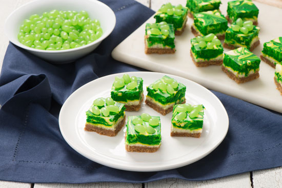 Jelly Belly Key Lime Cheesecake Swirl Squares
