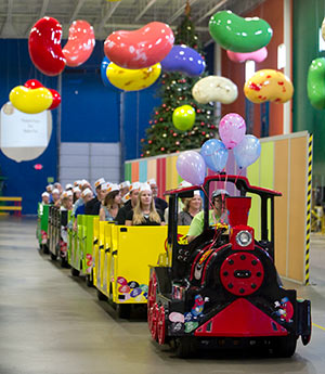 Jelly Belly Factory Train Tours