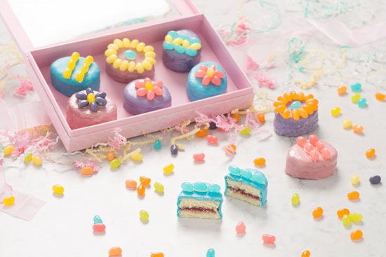 Jelly Belly Easter Petit Fours