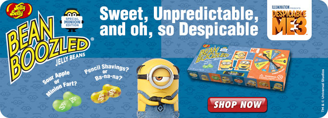 Jelly Belly Beanboozled Minion Edition landing page