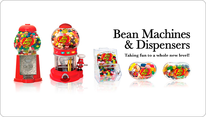 Jelly Belly Bean Machines and Dispensers