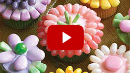How to make Spring Cupcakes video