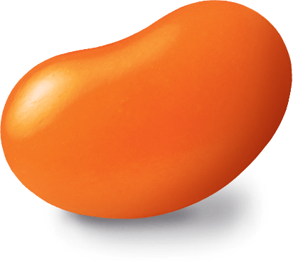 Habanero flavored Jelly Bean