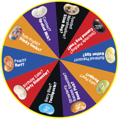 Bean Boozled 5th Edition Spinner