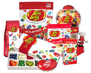 Jelly Belly jelly beans product listings