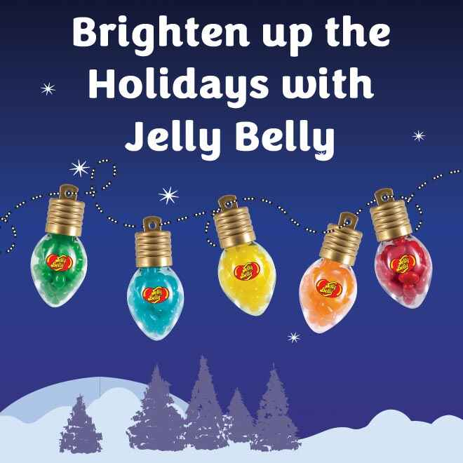 Jelly Belly Christmas Lights