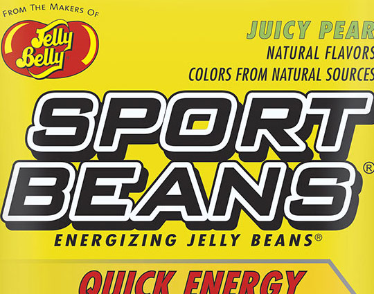 New Sport Beans Flavours Juicy Pear and Green Apple