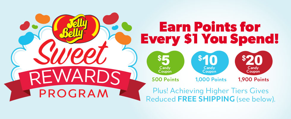 Sweet Rewards Program banner