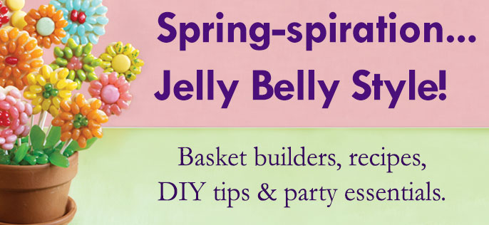 Spring & Easter Party Ideas from Jelly Belly