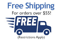 Free Shipping for orders over $55