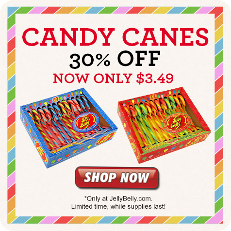 Jelly Belly Candy Cane Sales