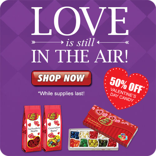 50% OFF Valentine's Day Candy