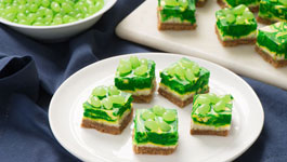 Key Lime Cheesecake Swirl Squares