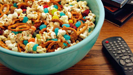 Movie Night Snack Mix Birthday Recipe