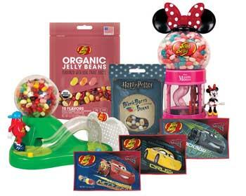 new Jelly Belly products listing page