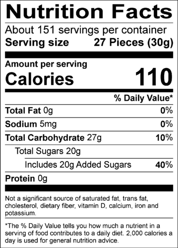 Grape Crush® Jelly Beans - 10 lbs bulk