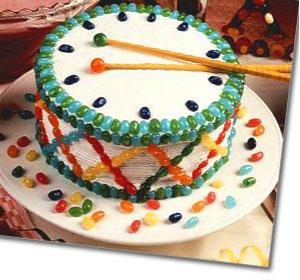 Sensational Rat A Tat Tat Drum Cake Recipe Funny Birthday Cards Online Aboleapandamsfinfo