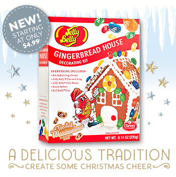 Jelly Belly Gingerbread Decorating Kit