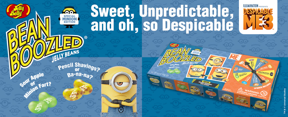 Jelly Belly BeanBoozled Minion Edition product listing page